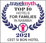 hotels for families in Namibia